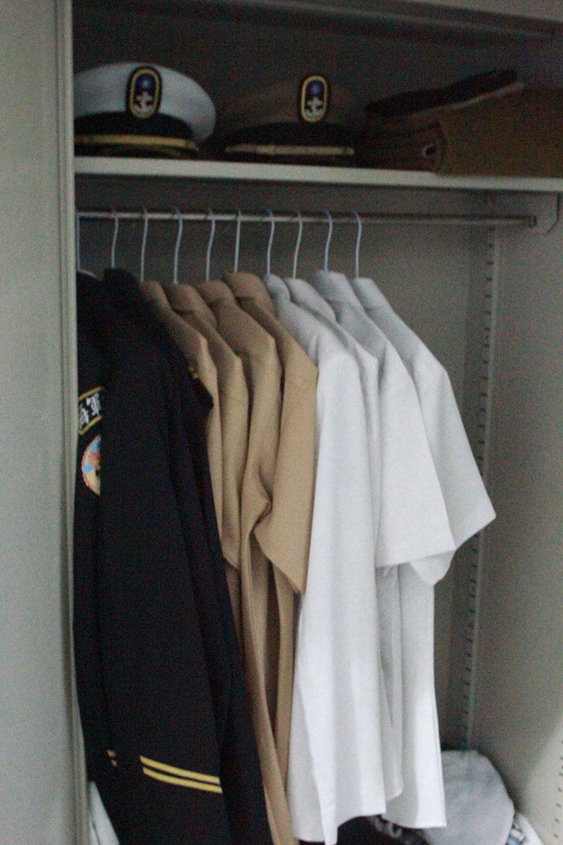 官校生活的置物櫃